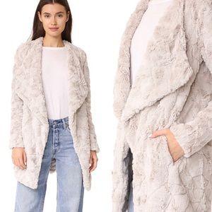 BB DAKOTA Tucker Wubby Plush Faux Fur Jacket